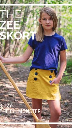 Sewing Patterns For Kids, Clothing Patterns, Dressy Casual Outfits, Cute Outfits, Shirt Tutorial, Skort, Blouse Designs, Sewing Projects, Pink Poppies