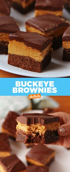 We've made A LOT of brownies in our day and these put all others to shame. Get the recipe at Delish.com.