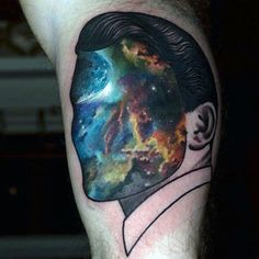 75 Universe Tattoo Designs For Men – Matter And Space