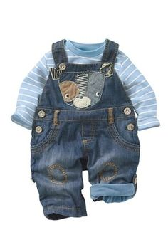 Buy Dog Dungarees With Bodysuit (0-18mths) from the Next UK online shop