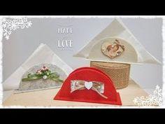 Porta tovaglioli da tavolo in feltro: veloce & senza cucire - YouTube