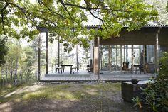 Compact Living, Scandinavian Home, Modernism, Prefab, Small Apartments, Architecture Details, Tiny House, Gazebo, Villa