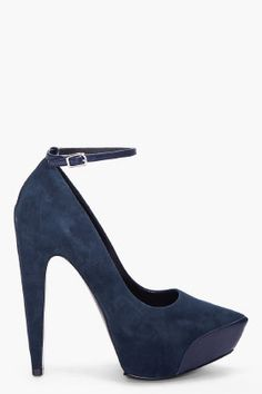 if shoes can kill: awesome navy aki ziggy pumps // theysken's theory