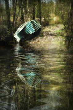 'spring awakening -Frühlingserwachen im Auwald ' von Chris Berger bei artflakes.com als Poster oder Kunstdruck $17.08