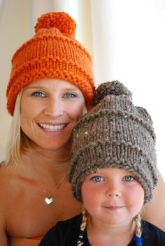 Shop for on Etsy, the place to express your creativity through the buying and selling of handmade and vintage goods. Bonnet Rose, Orange Beanie, Pink Beanies, Ear Warmer Headband, Knitting Accessories, Kids Hats, Lady, Valentine Gifts, Crochet Baby