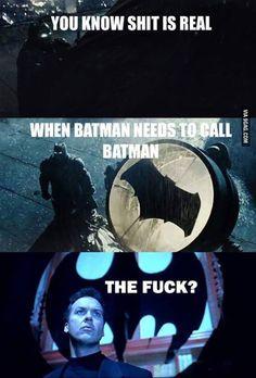 Batman vs Superman funny meme