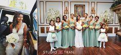 Christopher and Margaret Married | Balcony Ballroom Wedding - Studio Tran Photographers