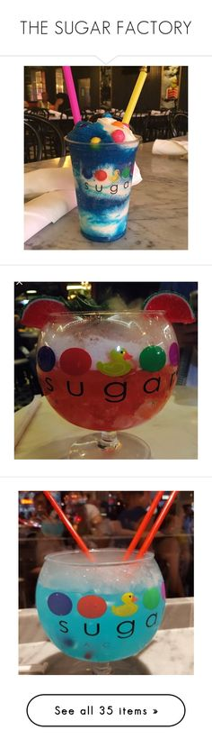 """""""THE SUGAR FACTORY"""" by diamonddolll ❤ liked on Polyvore featuring food, fillers, food & drinks, food and drink, candy and hello kitty"""