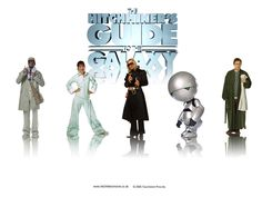 The Hitchhikers Guide To the Galaxy wallpaper