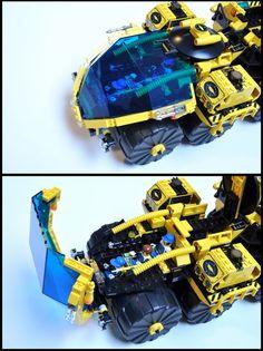 Lego Spaceship, Lego Robot, Lego Moc, Lego Space Station, Easy Lego Creations, Armored Vehicles, Lego Vehicles, Lego Army, Lego Design