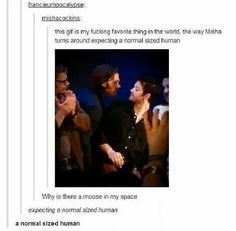 There is absolutely nothing normal about Jared. That's why we love him so much.