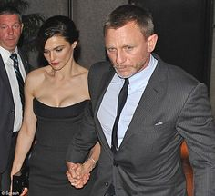 Queen of his heart: Daniel Craig jetted in the New York City following his starring role in the London 2012 Olympic Games Opening Ceremony on Friday