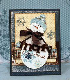 Snowfall Card @Luz Maria Deusch Bruna #bobunny