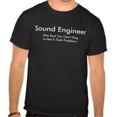 Sound Engineer When you cant sing its not a technical problem