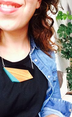 New hair and another lovely necklace from oliver bonas