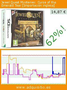 Jewel Quest Mysteries: Curse of the Emerald Tear [Importación inglesa] (Videojuegos). Baja 62%! Precio actual 14,87 €, el precio anterior fue de 39,20 €. https://www.adquisitio.es/avanquest/jewel-quest-mysteries