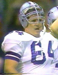 TOM RAFFERTY (64)--October 18, 1981 Cowboys 4, Dallas Cowboys, Football Players, Football Helmets, Bicycle Helmet, Toms, Fence, October, Sports