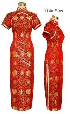 Big picture of Distinctive Chinese Fashion Cheongsam