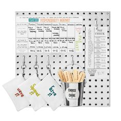 I feel like this is 100% doable to make. Alt/ $48.00 KID'S RESPONSIBILITY BOARD | Children's Chore Organizer | UncommonGoods