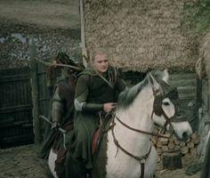 Arod (the horse) with legolas