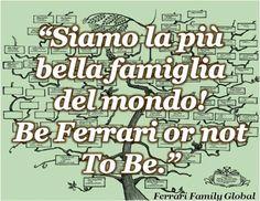 Una persona muy orgullosa de la Gran Familia Ferrari citada aquí #FerrariFamilyquotes #FFquotes Descubre mas