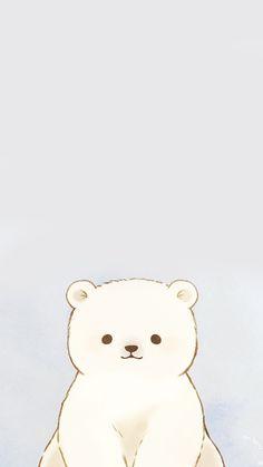 Cute Wallpaper Backgrounds, Wallpaper Iphone Cute, Cute Cartoon Wallpapers, Pretty Wallpapers, Animes Wallpapers, Wallpapers Android, Cute Animal Drawings, Kawaii Drawings, Cute Drawings