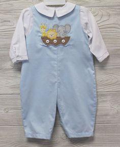 NWT Will/'beth White Blue Knit Diamond Jon Romper Newborn Baby Boys Cap Booties