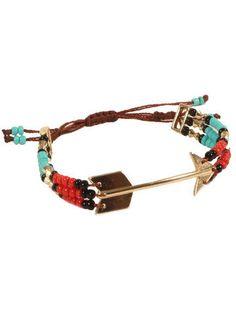 gypsy warrior arrow bead bracelet