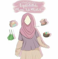 Cartoon Photo, Girl Cartoon, Cartoon Art, Muslim Pictures, Islamic Pictures, Muslim Girls, Muslim Women, Muslim Quotes, Islamic Quotes