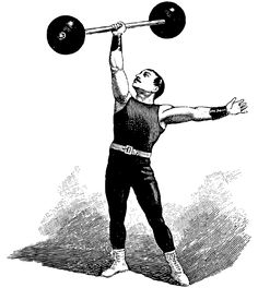 Images For > Old Time Strongman