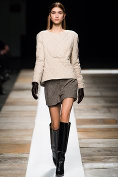 Theyskens' Theory Fall 2013 Ready-to-Wear Fashion Show - Marcele Dal Cortivo