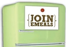 eMeals Weekly meal plans where they email you the recipes and the shopping list each week--around sixty dollars a week for groceries--and they have menus that cater to vegetarian, low fat, clean eating and more. Great way to plan a food budget, and get organized! Only thirty-five dollars for a 6 months subscription.