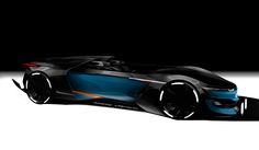 Renault Alpine Roadster on Behance
