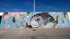 """Vedo a Colori"" emerging street artists bring color to Civitanova Marche - Italian Ways Sidewalk Chalk Art, Disney Princess Ariel, Best Street Art, Street Art Graffiti, Street Artists, Color Street, Around The Worlds, Italy, Urban"