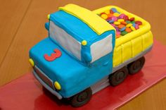 step by step Cake  Truck