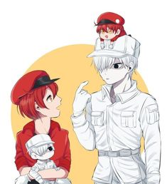 dc43f3c2 White Blood Cells, Manga Cute, Anime Group, One Punch, Online Anime,