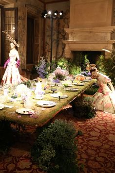 P&G Prestige and Vogue Italia's Beauty in Wonderland exhibition at Casa degli Atellani [Photo by Delphine Achard]