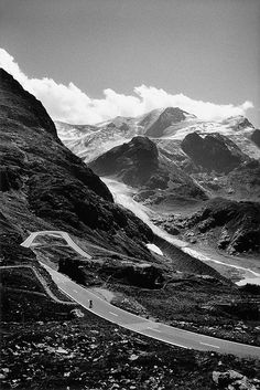 Target consumer - ultimate road biker destination - the Swiss Alps