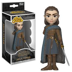 Buy Game of Thrones Arya Stark Rock Candy Vinyl Figure from Pop In A Box Canada, the home of Funko Pop Vinyl collectibles figures and other Funko goodies! Game Of Thrones Brienne, Funko Game Of Thrones, Game Of Thrones Gifts, Funko Figures, Pop Figures, Vinyl Figures, Action Figures, Arya Stark, Madrid Barcelona