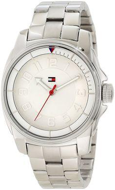 Tommy Hilfiger Women's 1781227 Sport Bracelet White Bezel Watch ** For more information, visit image link.