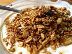 Granola maison beurre d'arachide et pistache