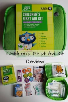 Children's First Aid Kit Review - sharing our thoughts on the new Children's…