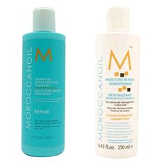 awesome Moroccanoil Moisture Repair Shampoo & Conditioner Combo Set (8.5 oz each)
