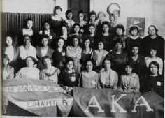 Alpha Chapter ~1908 #AKA The most beautiful pearls made it possible for me! #AKA1908 #105YEARS OLD THIS YEAR