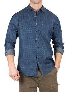 Rodd And Gunn Creast Lane Print Soft Woven Shirt