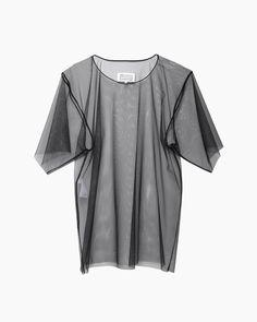 Maison Martin Margiela Line 1 / Tulle Shirt #pf14