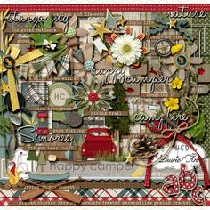 After Five Designs::Full Kits::Happy Camper by Laurie Ann {complete kit}