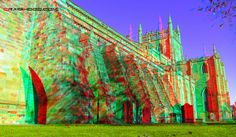 Dunfermline abbey (3d view with red/blue glasses)