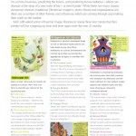 Advocate art feature in the Art and Design Licensing Sourcebook 2011.
