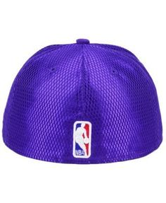 New Era Los Angeles Lakers On-Court Collection Draft 59FIFTY Fitted Cap - Purple 7 1/2